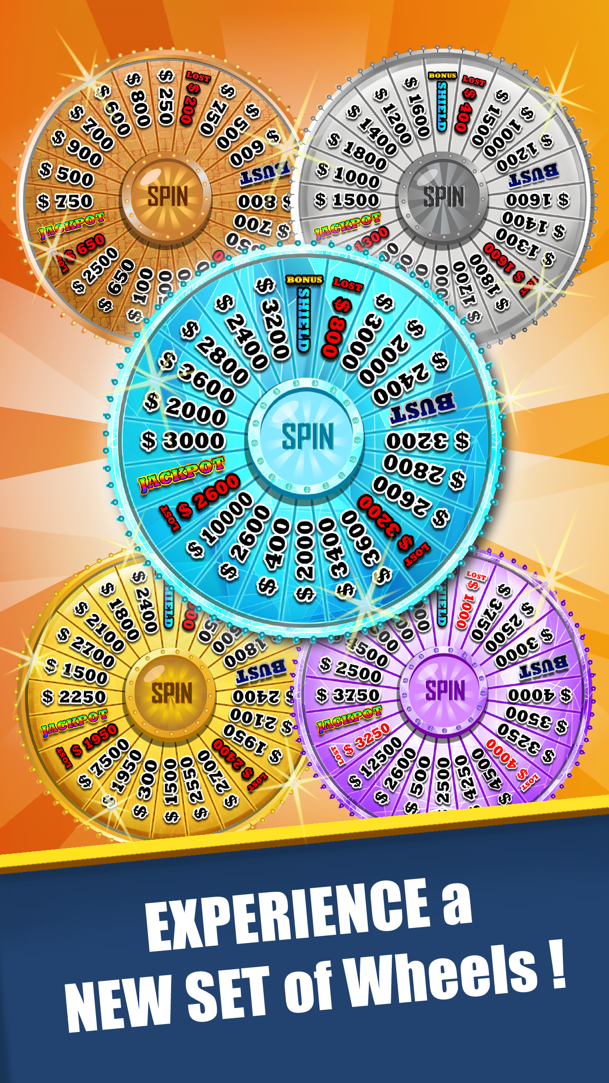 Amazing Wheel-Word of Fortune Screenshot