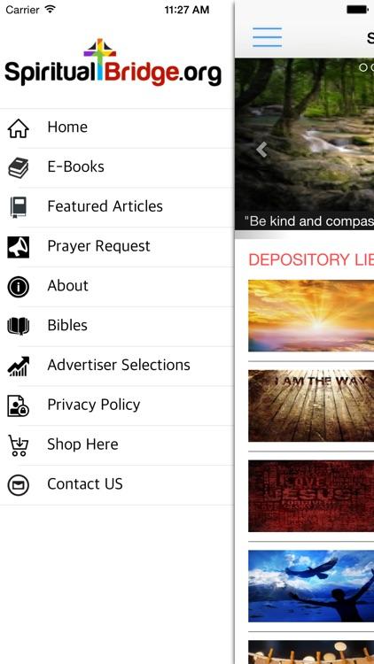 Spiritual Bridge App