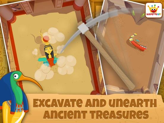 Archeoloog Egypte: Educatieve spelletjes kinderen iPad app afbeelding 2