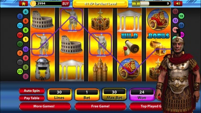 Roman Battle Slot Machine Jackpot Casino Games screenshot three