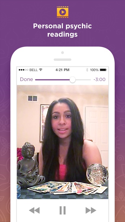 Purple Ocean Psychic Readings, Relationship Advice app image