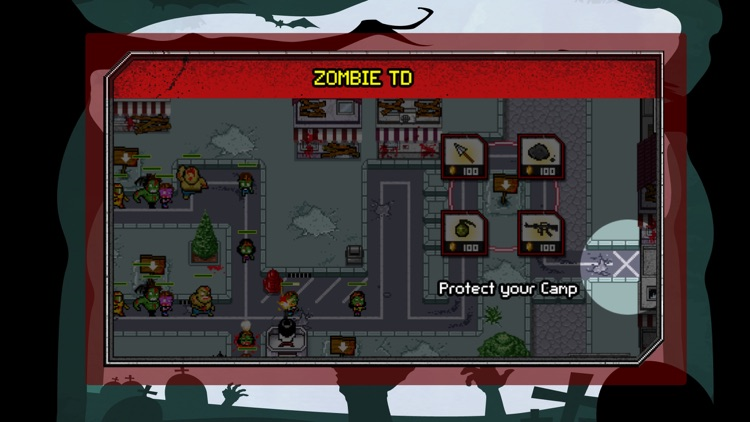 Zombie Tower Defence Castle Creeps TD Madness War screenshot-3