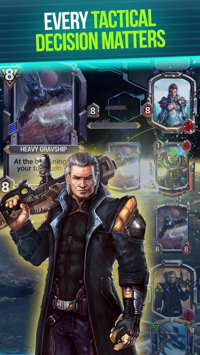 Star Crusade™ CCG Screenshot