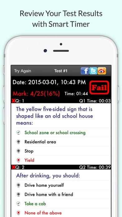 mva learners permit practice test app