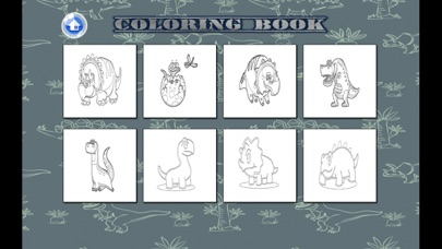 Coloring Book - T rex Dinosaur Kids Learn To Paint screenshot two