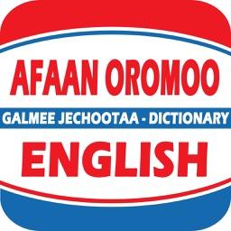Galmee Jechootaa - Afaan Oromoo English Dictionary
