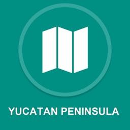 Yucatan Peninsula : Offline GPS Navigation