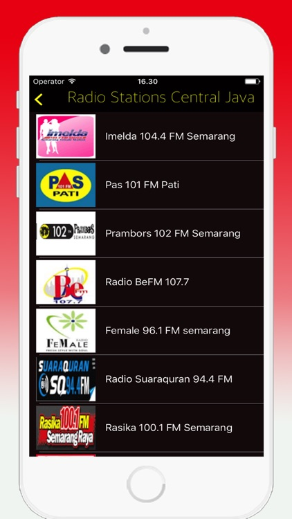 Radio Indonesia FM - Live Radio Stations Online screenshot-3