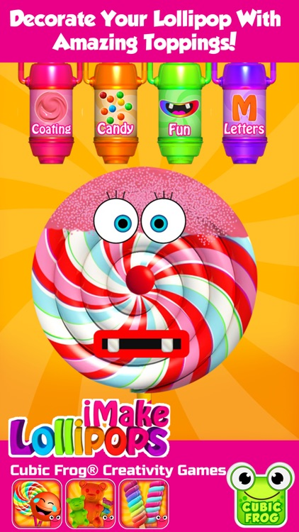 iMake Lollipops-Candy Making Kitchen Games screenshot-2