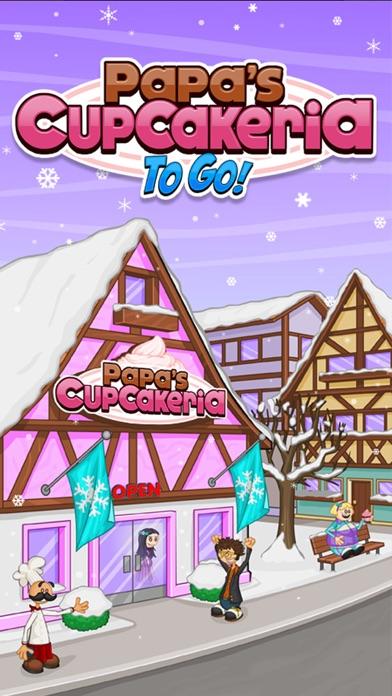 Papa's Cupcakeria To Go! Screenshot