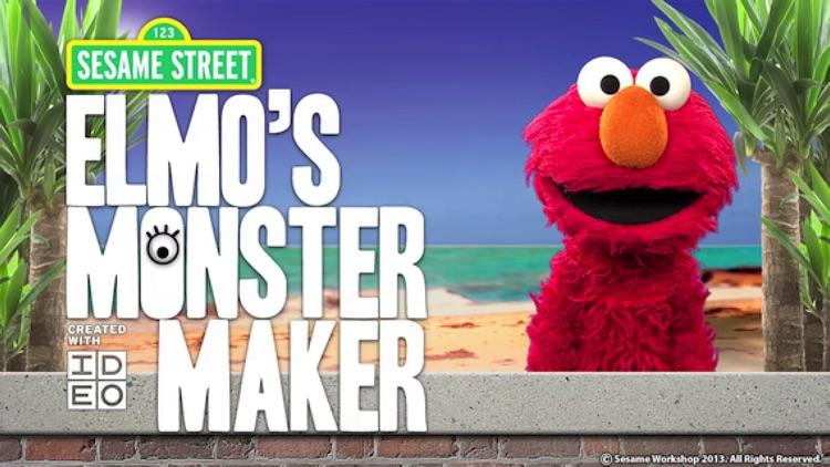 Elmo's Monster Maker screenshot-0