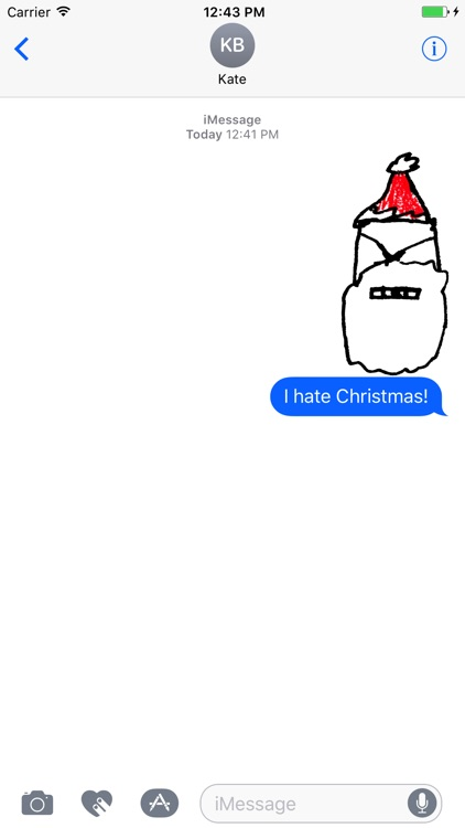 Grumpy Christmas Stickerpack