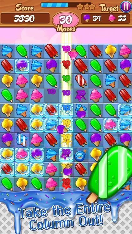 Ice Cream Frenzy: Free Match 3 Game screenshot-4
