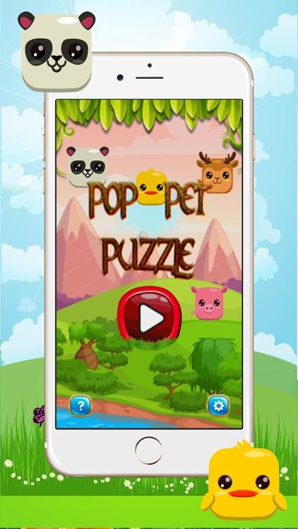 pop pet puzzle