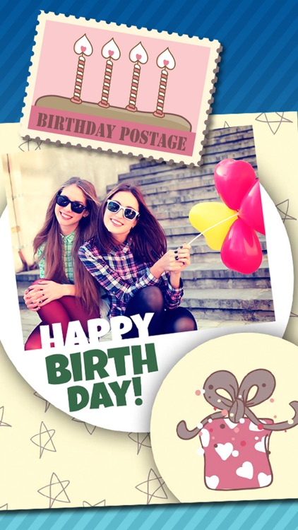 Birthday greeting cards photo editor – Pro screenshot-4