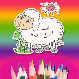 Finger Painting Coloring Book For Children