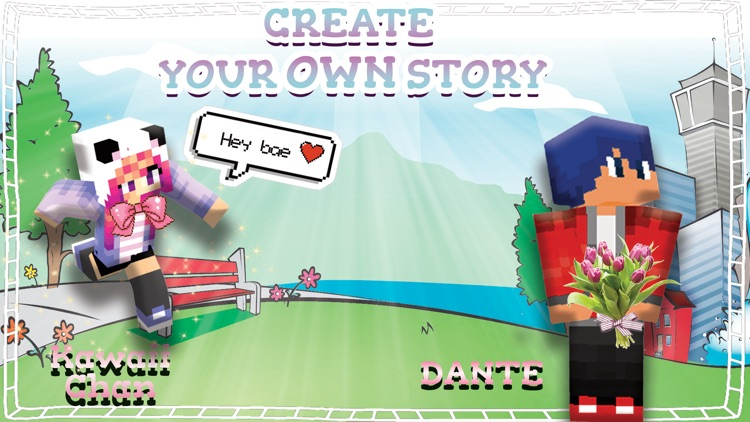 Cute Couple Dante & Kawaii Skins For Minecraft PE
