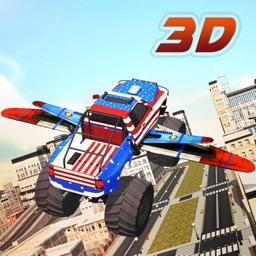 Flying Monster Truck Driver 3d simulator