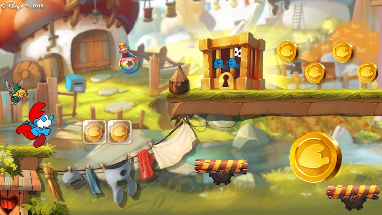 Smurfs Epic Run - Fun Platform Adventure screenshot-0