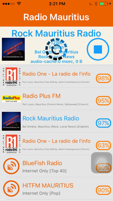 Radio Mauritius - Radio Ile Maurice screenshot four