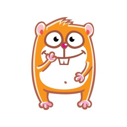 Hamster Emojis Stickers
