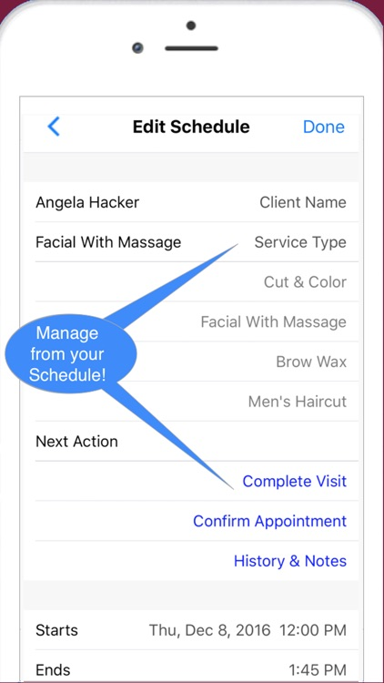 Nail Tech Pro Scheduling, Reminders & Sales