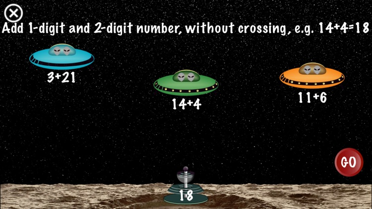 Arithmetic Invaders: Grade 1 Math Facts screenshot-3