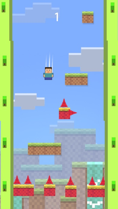 Pixel Boy Spike Jumper screenshot