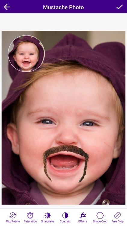 Mustache Photo Booth - Mustache Photo Montage