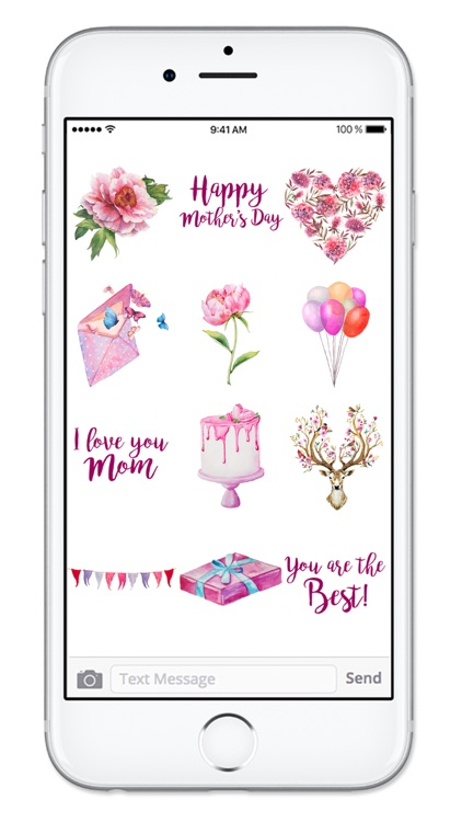 Happy Mothers Day Sticker Pack