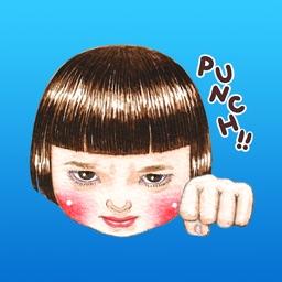 Panthea-chan Funny Face