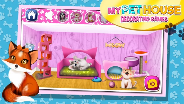 My Pet House Decorating Game.s: Animal Home Design 4+