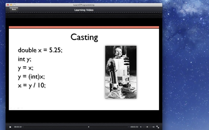 Learning C Programming screenshot 2