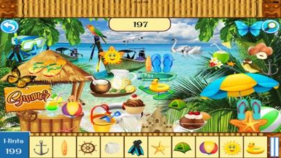 Hidden Objects:Summer Beach Party screenshot four