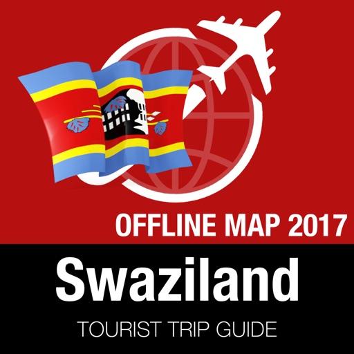 Swaziland Tourist Guide + Offline Map