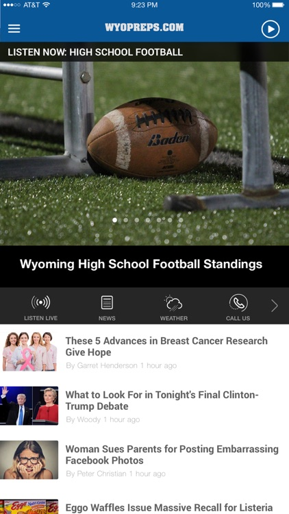 WyoPreps - High School Sports News - Casper
