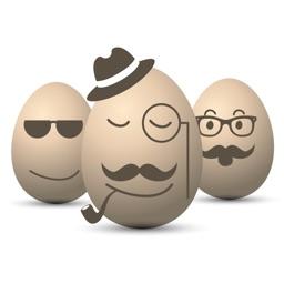 Hipster Easter Egg