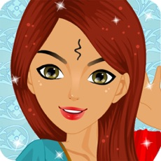 Activities of Indian Princess Salon Fashion Dressup and make up