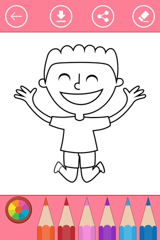 Coloring Pages for Boys, Coloring Book For Kids - náhled