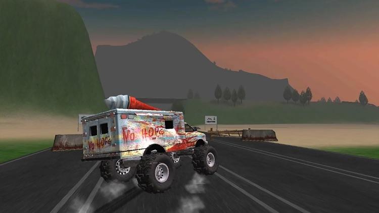 Truck Driving Zombie Road Kill screenshot-3