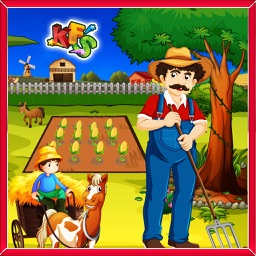 Farm Crops Harvesting – Kids Farming Game