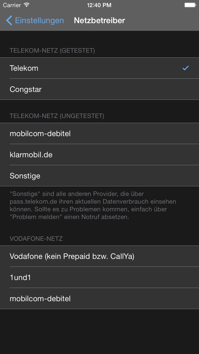 DataTrackr Screenshot