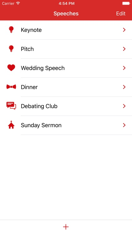 Speeches App screenshot-0