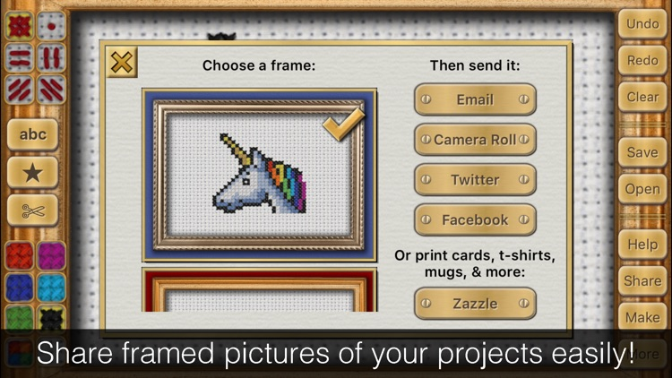Cross Stitch Maker: Draw Realistic Embroidery! screenshot-4