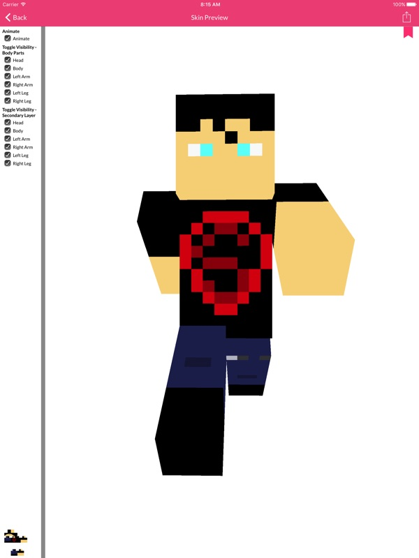 Super Hero Skin For Minecraft Online Game Hack And Cheat