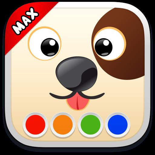 Раскраска - Собаки MAX