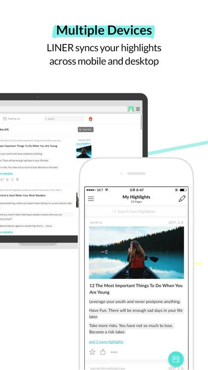 LINER - Web Highlighter & Annotator screenshot-4