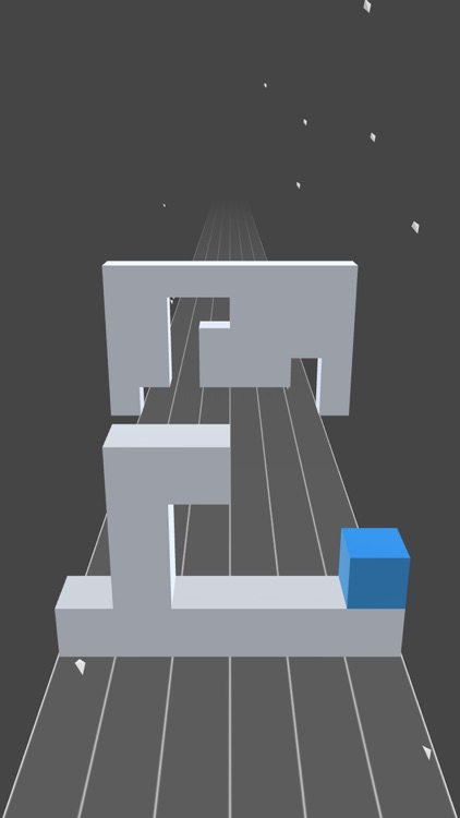 Fill the hole - Roll the cube to the left or right screenshot-0