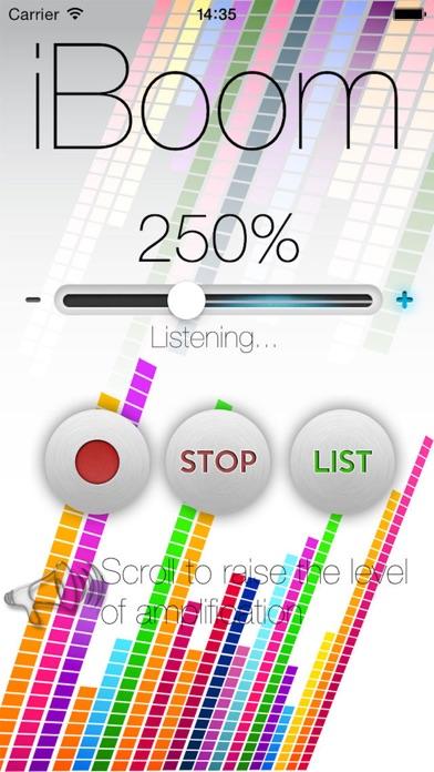 Screenshot for iBoom - Volume Booster in Denmark App Store