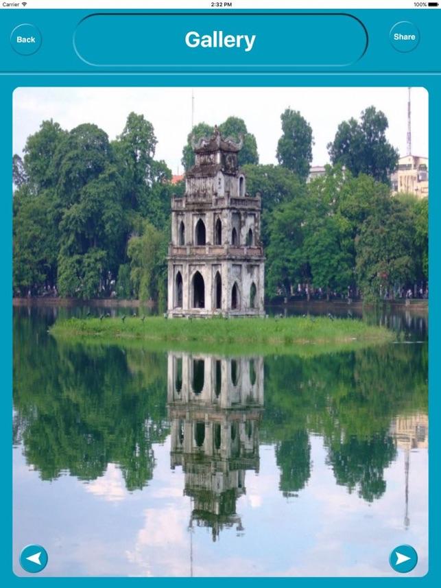 Hanoi Vietnam Offline City Maps Navigation